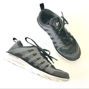 APL Techloom Plow Black White Tennis Shoes